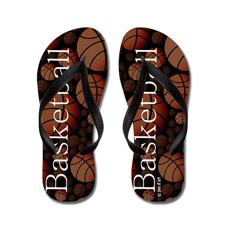 370b1dd2ecf5 Get Quotations · CafePress Basketball Flip Flops - Flip Flops