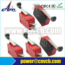 on-off mini mouse lever electrical omron limit switch