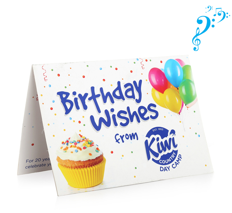Cheap Price Custom Music Cards Musical Greeting Card With Sound Chip Happy Birthday Song