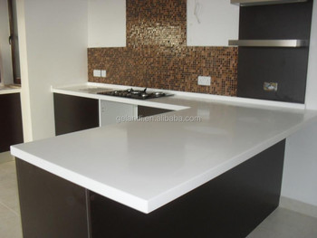 Beau Pure Acrylic Solid Surface Kitchen Countertop