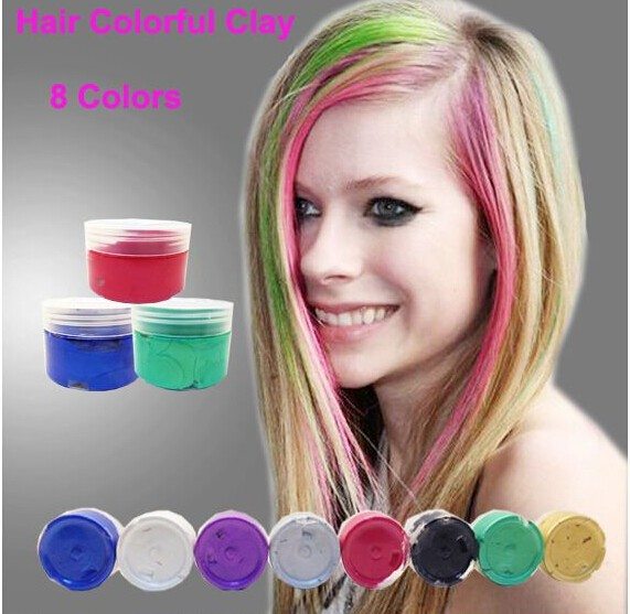 Temporary Fashionable Washable Hair Color Creamcolor Hair Wax