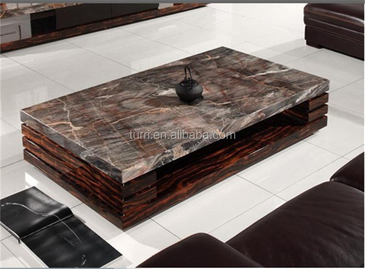 Modern Nature Marble Living Room Coffee