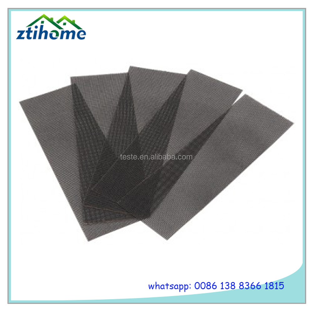 Silicon Carbide and Aluminium Oxide Abrasive Sanding netting with lint backing