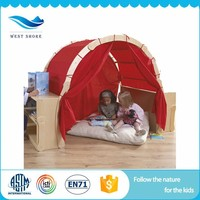 wholesale baby activity toys wood play house for kids
