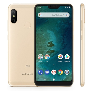 Xiaomi Mi A2 Lite,4+64gb Ai Dual Back Cameras Android One 5 8inch Dual Sim  Global Official Version Mobile Cell Phone Smartphone - Buy Android