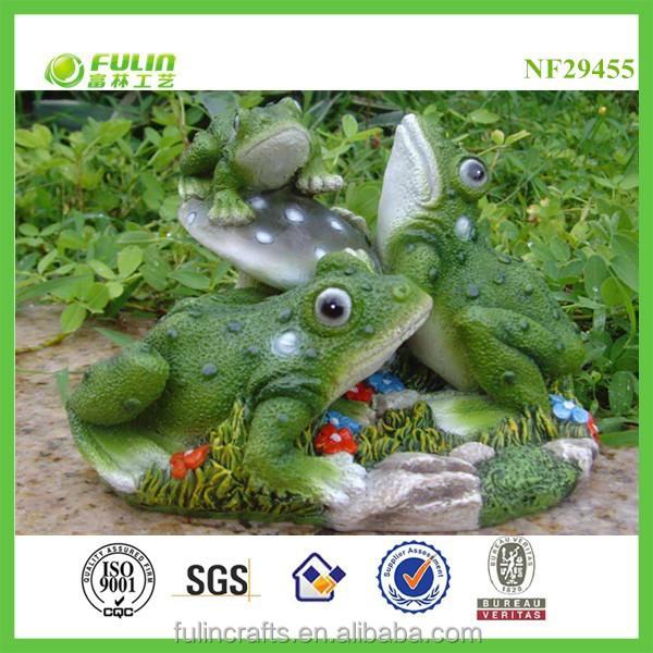 Rana del jard n figurines rana verde jard n jard n de la for Ranas decoracion jardin