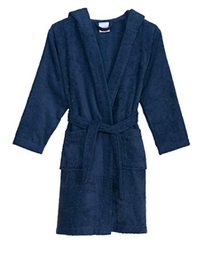 2020 hot selling Hooded terry Velour Bathrobe for Boys and Girls Made in China, kids bathrobe, kids robes