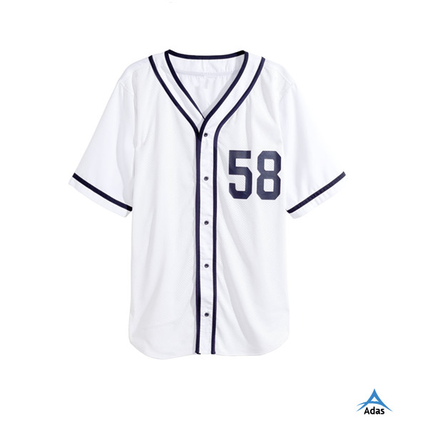 hot sale online e5174 be329 Custom Made White Plain Baseball Jersey/baseball Shirt - Buy Custom Made  Baseball Jersey,White Plain Baseball Jersey,White Plain Baseball Shirt ...
