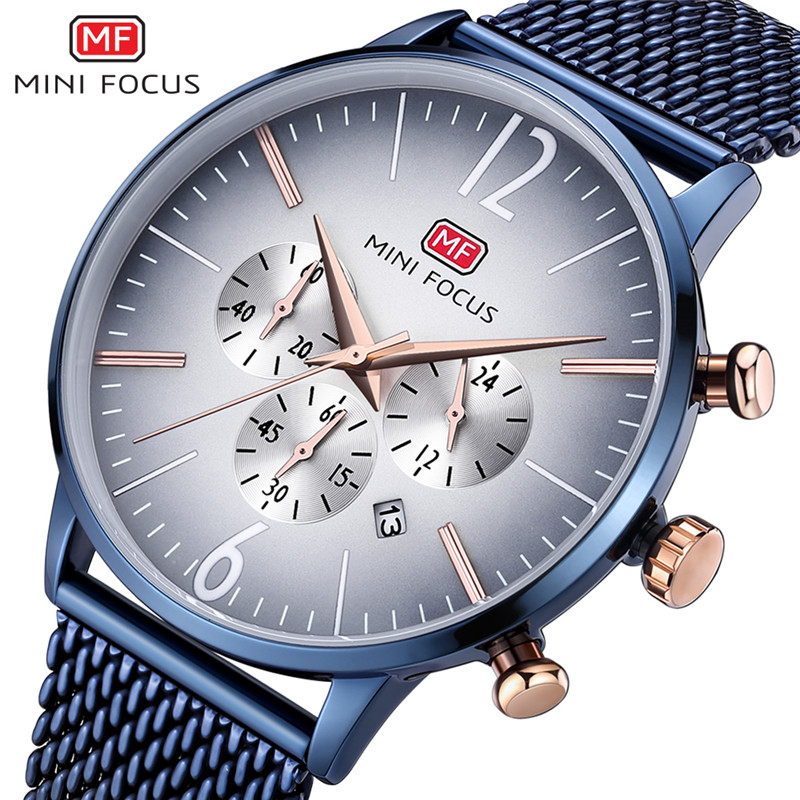 Mini Focus luxury automatic mechanical men watches and design your own logo in china with Japan movement