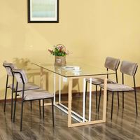 New Style Home Furniture Luxury Dining Room Italian dining room furniture high end table and chair sets for cafe restaurant