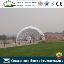 Grand decoration dome lodge camping luxury tents, dome tent hotel for leisure camping