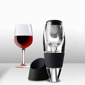 Wine Aerator Decanter with Base Set Family Party Hotel Fast Aeration Wine Pourer Magic Decanter