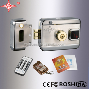 intelligent door lock control access system waterproof box with RFID card
