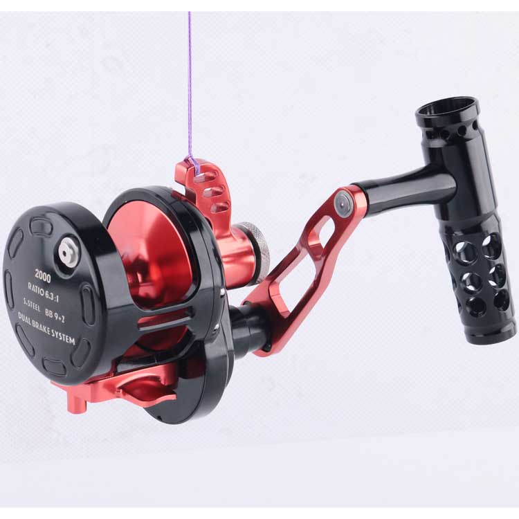 Hot selling light weight fishing jigging reel, As your request