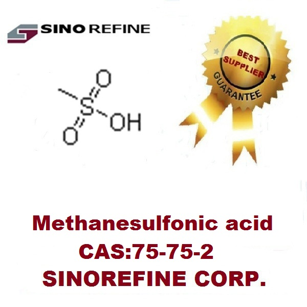 Methanesulfonic acid 75-75-2