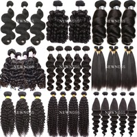 Wholesale Raw Unprocessed 100% human hair virgin hair 7A, 8A, 9A grade