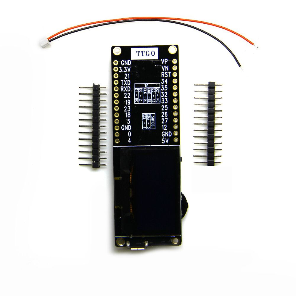 Ttgo T-eight Esp32 With Sh1106 1 3 Inch Oled Display(5-sda 4-scl) Ipex 3d  Antenna - Buy Ttgo Esp32,Esp32 With Oled,Ttgo T-eight Esp32 Product on
