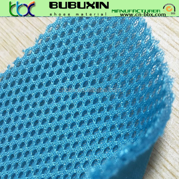 Thick polyester Sandwich cloth spacer foam padded spacer mesh fabric