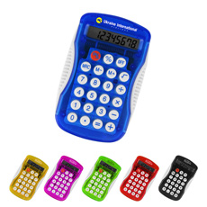 Valuable quality portable RoHS approved 8 digits square silicone press key button scientific office slim portable calculator