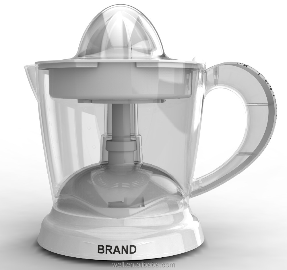 Plastic Housing Fruit <strong>Citrus</strong> <strong>Juicer</strong> 1.0L capacity