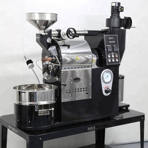 Wintop 1kg coffee roaster machine/ small coffee bean roaster for home/shop/Gas and electric coffee roaster