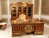 0062 italian classic home office furntiure wooden study table designs