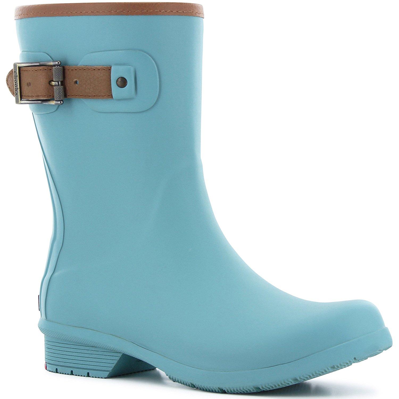 012bdf376538 Get Quotations · Chooka Womens City Solid Mid Rain Boots