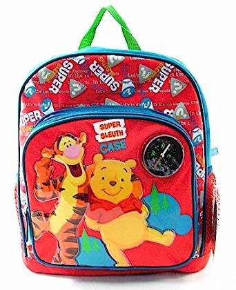 3f3079969a Get Quotations · Disney My Friends Tiger and Pooh kids Backpack Red Blue  School Bag