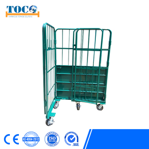 Capacity 100-200kg Cage Roll Container For Spare Parts