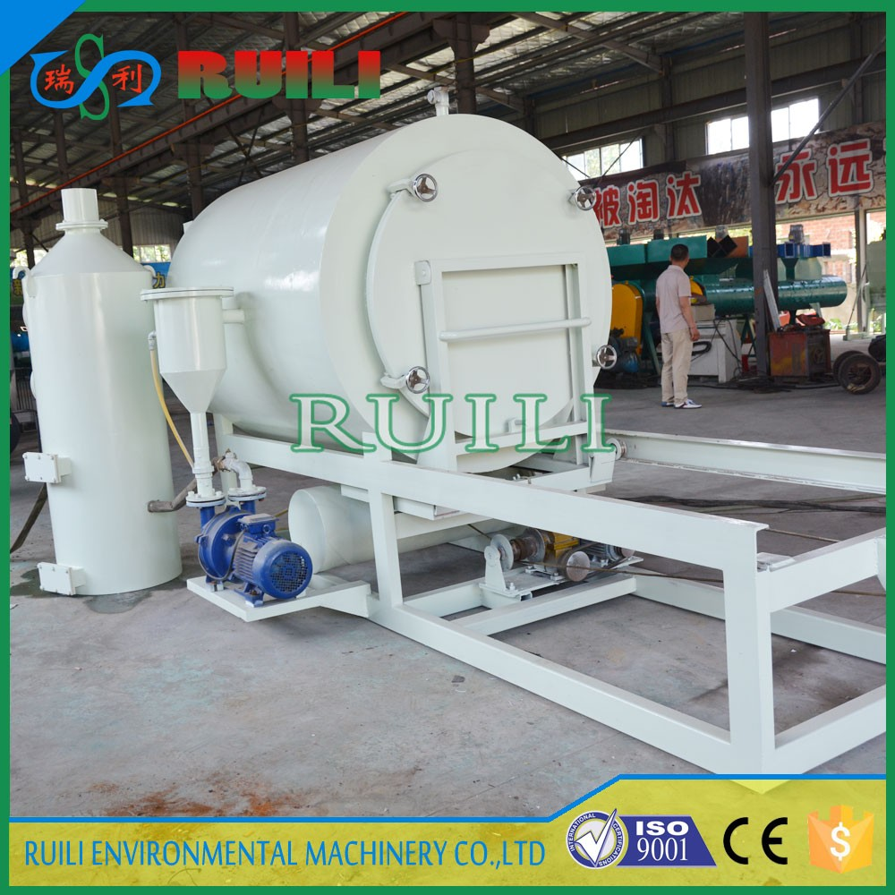 High efficiency plastic melting furnace /screen burning machine