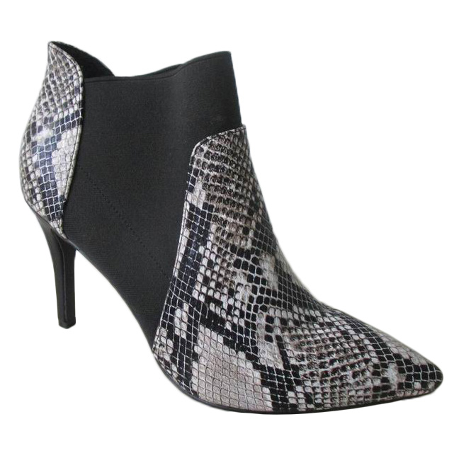 2015 hot sale snake skin ankle boots shoes boots women