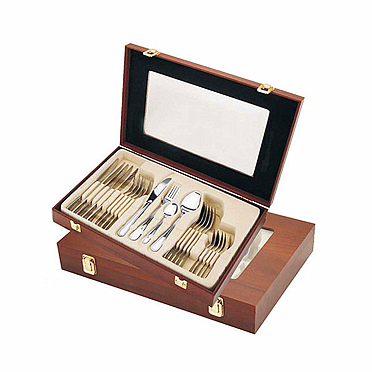 18 10 Stainless Steel Flatware Sets 24 pcs Kitchen Home Tableware Utensil Set Service for 6