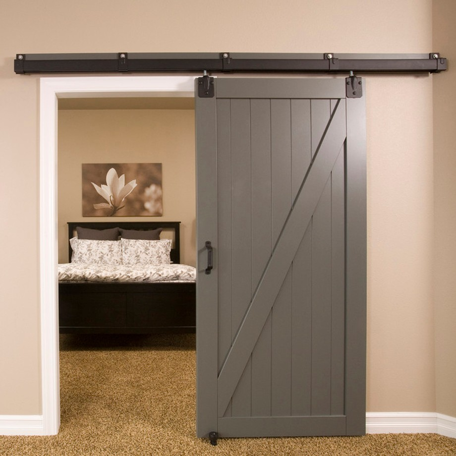 Contemporary Wooden Sliding Barn Door For Bedroom - Buy Sliding  Door,Contemporary Sliding Door,Sliding Barn Door Product on Alibaba.com