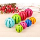 NEW Dog Toothbrush Cleaning Dog Activity Ball Chew Toy Interactive