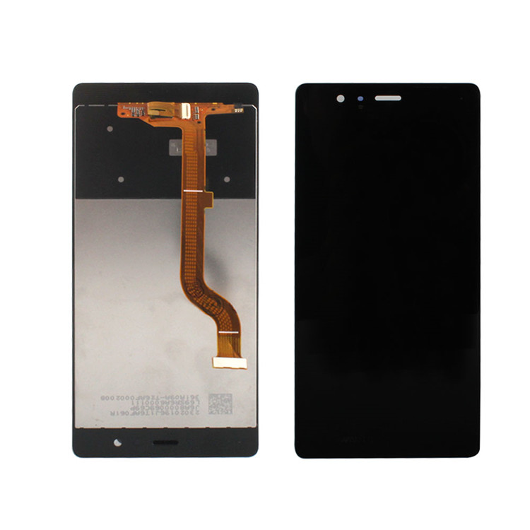 Lcd touch display + digitizer with frame for Huawei Ascend P9 for HuaWei Ascend P9 lcd screen with frame black