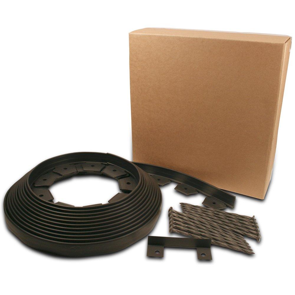 Dimex EasyFlex No-Dig Plastic Landscape Edging Kit, 40-Feet (3000-40C-4)