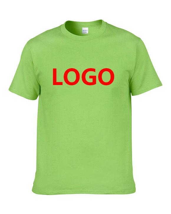 High Quality 100% Cotton Custom Label Private T-Shirt Mens Printing Your Brand Logo T Shirt