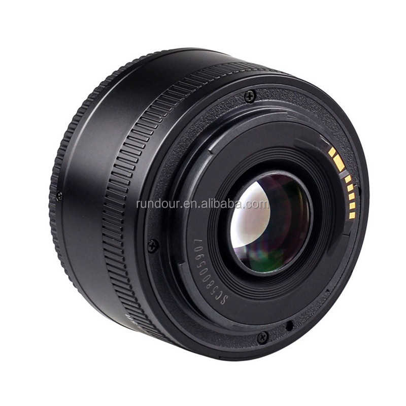 professional yongnuo 50MM f1.8 lens large aperture auto fixes focus lens 50mm/f1.8 for canon DSLR camera