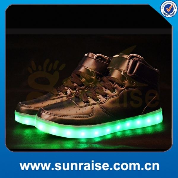 best sell sneakers shoes with led lights