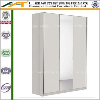 Simple MDF Wardrobe Design,2 Door Wardrobe Cheap Closet Furniture