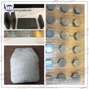 silicon carbide ballistic plates / sic ceramic tile