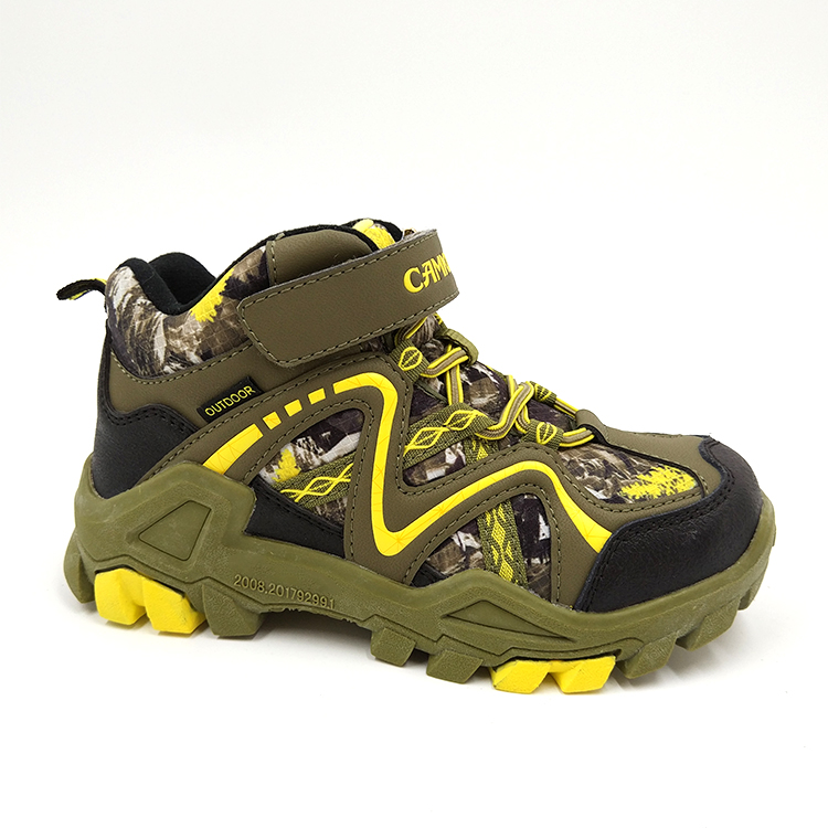 Hot Sale Antislip Kids Hiking Outdoor Shoes For Boys