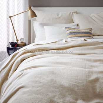 Pure Natural Linen Bedding Set 100% French Linen Bed Sheets