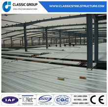 China Supplier Light Steel Construction Design Prefabricated Workshop Large Span Steel Structure