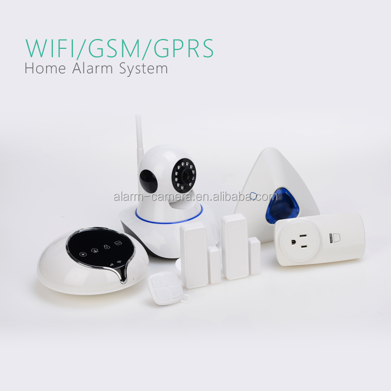 Wifi smart home gsm alarm system smart home automation wireless intruder alarm system from Shenzhen Golden Security