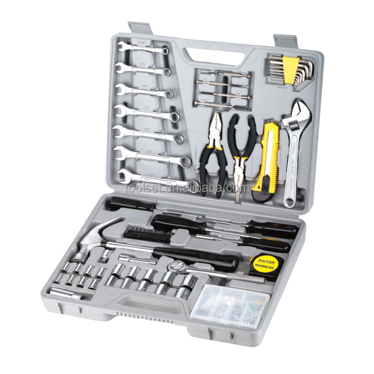 120PCS Complete Household Hardware Hand Tool Kit
