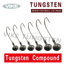 Tungsten Compound Football Fishing Jig head
