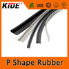 High quality P shape silicone extruded rubber seal China manufacturer