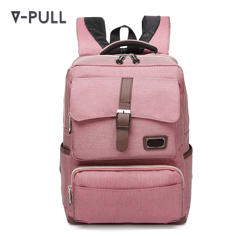 30-40L High quality polyester casual back pack schoolbag women girls college bags purchase backpack school bag
