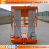 Double mast lift table/Aluminum hydraulic man lift/electric man lift